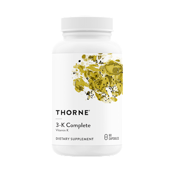 Thorne Research 3 K Complete 60 caps T06619