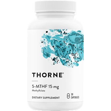 Thorne Research 5 MTHF 15 mg 30 caps T06626
