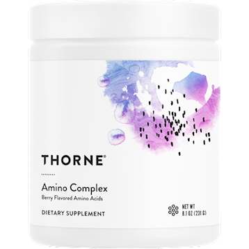 Thorne Research Amino Complex Berry Powder 8.1 oz T04646