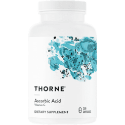 Thorne Research Ascorbic Acid Caps 1 g 250 caps T49019