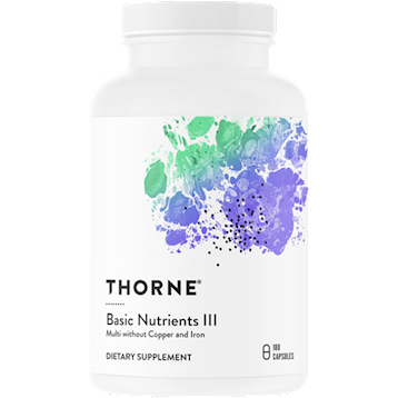 Thorne Research Basic Nutrients III 180 vegcaps T06060