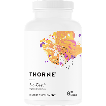Thorne Research Bio Gestreg Digestive Enzymes 180 caps T05023