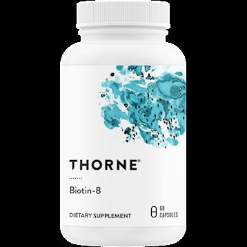Thorne Research Biotin 8 60 vegcaps T18022