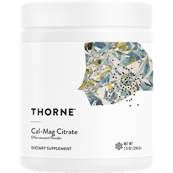 Thorne Research Cal Mag Citrate Effervescent 7.5 oz T22026