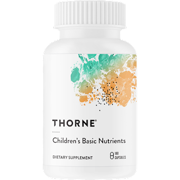 Thorne Research Children039s Basic Nutrients 180 vegcaps T10074