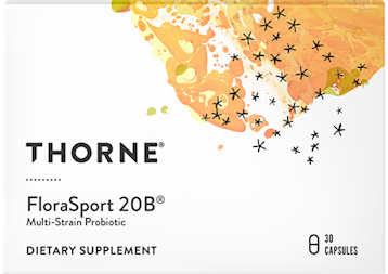 Thorne Research FloraSport 20B 30 vegcaps T06312