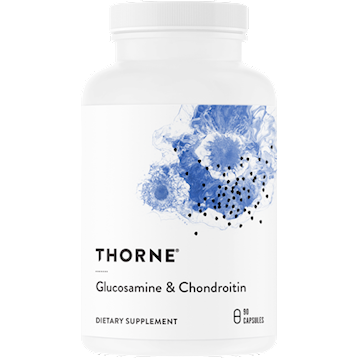 Thorne Research Glucosamine amp Chondroitin 90 caps T67022