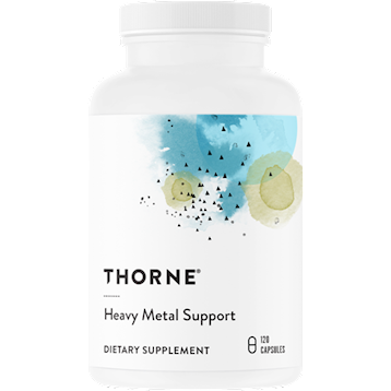 Thorne Research Heavy Metal Support 120 vegcaps T95032