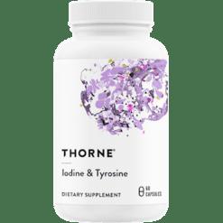 Thorne Research Iodine Tyrosine 60 vegcaps T19026