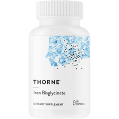 Thorne Research Iron Bisglycinate 60 caps T03458