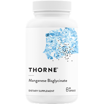 Thorne Research Manganese Bisglycinate 60 vegcaps T03731