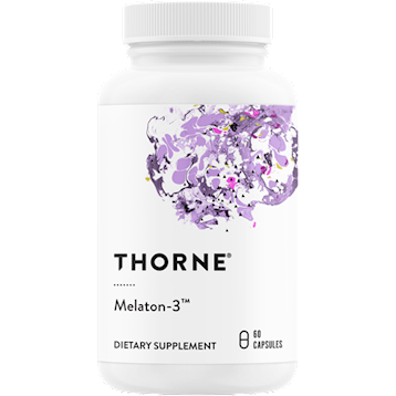 Thorne Research Melaton 3trade 60 caps T88027