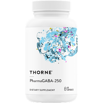 Thorne Research PharmaGABA 250 60 caps T62013