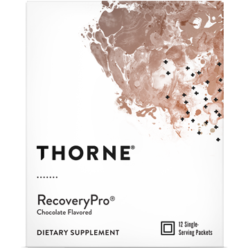 Thorne Research RecoveryProreg Chocolate 12 packets T06688