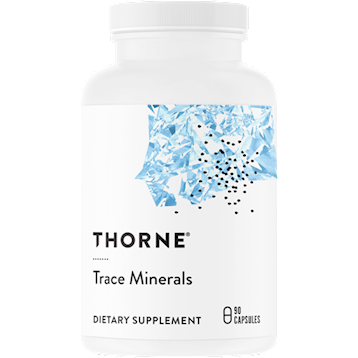 Thorne Research Trace Minerals 90 caps T42031