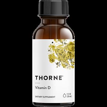 Thorne Research Vitamin D Liquid 1 oz T68010