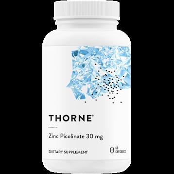 Thorne Research Zinc Picolinate 30 mg 60 caps T20022