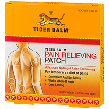 Tiger Balm Pain Relieving Patch 5 patch TIGB4