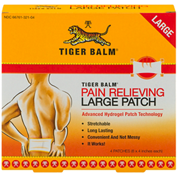 Tiger Balm Patch Large 8 x 4.4 patch TIGB5