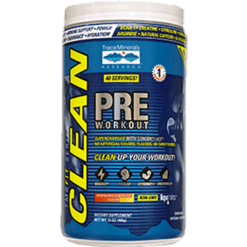 Trace Minerals Research Cleanfit Pre Workout 13 oz T13295