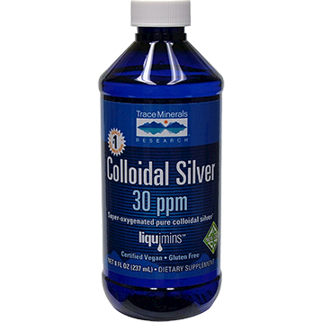 Trace Minerals Research Colloidal Silver 30 PPM 8 oz T00041