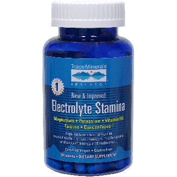 Trace Minerals Research Electrolyte Stamina Tablets 90 tablets T00584