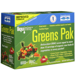 Trace Minerals Research Greens PAK Berry 30 packs T01703
