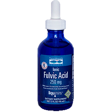 Trace Minerals Research Ionic Fulvic Acid with ConcenTrace 2 oz T03110
