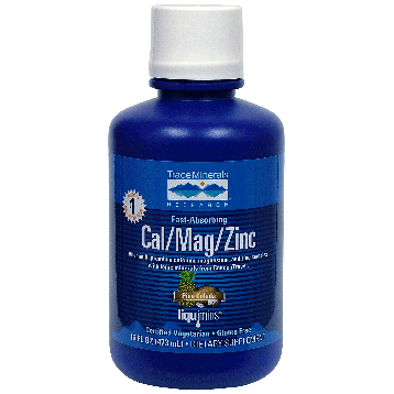 Trace Minerals Research Liquid Cal Mag Zinc 16 oz T00430