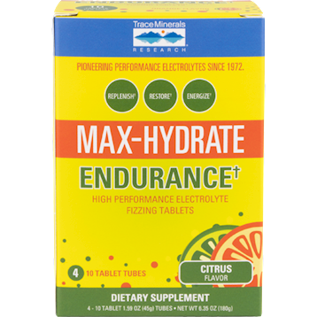 Trace Minerals Research Max Hydrate Endurance 4 tubes T04261