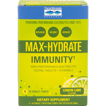 Trace Minerals Research Max Hydrate Immunity 4 tubes T04247