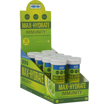 Trace Minerals Research Max Hydrate Immunity 8 tubes T04124