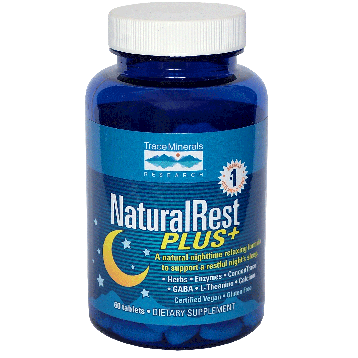 Trace Minerals Research NaturalRest Plus 60 tablets T02618