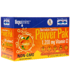 Trace Minerals Research Power Pak Tangerine 30 packets T0349