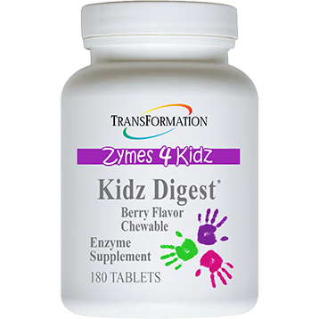 Transformation Enzyme Kidz Digest Chewable 180 tablets T70025