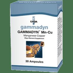 Unda Gammadyn Mn Cu 30 ampoules GAM20