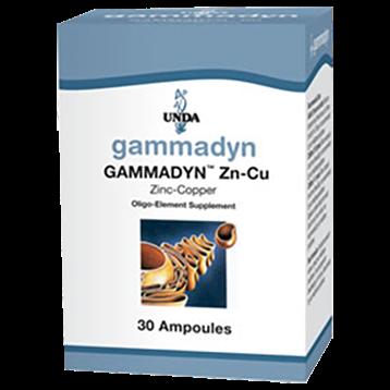 Unda Gammadyn Zn Cu 30 ampoules GAM12