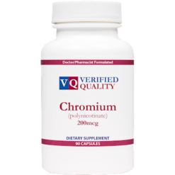 Verified Quality Chromium Polynicotinate 90 capsules CHR40