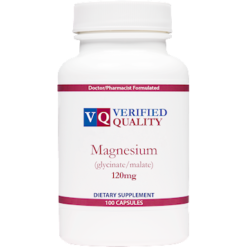 Verified Quality Magnesium Glycinate Malate 120 mg 100 capsules MAG71