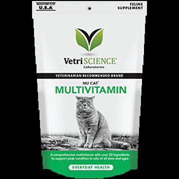 Vetri Science NuCat MultiVitamin 30 chew tabs V24192
