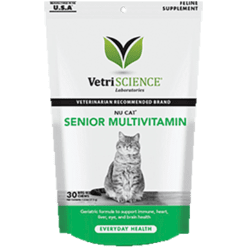 Vetri Science NuCat Senior Cat Multi 30 chew tabs V25724
