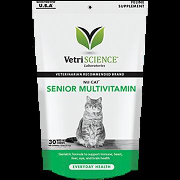 Vetri Science NuCat Senior Cat Multi 30 chew tabs V25724