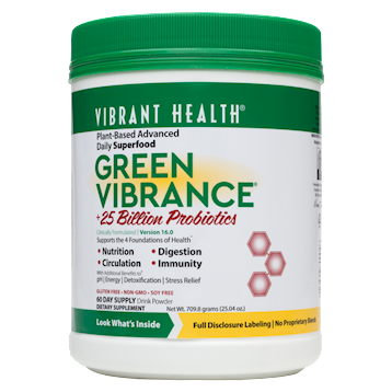 Vibrant Health Green Vibrance 60 Servings VB0046