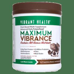 Vibrant Health Maximum Vibrance Chocolate 15 servings VB1500