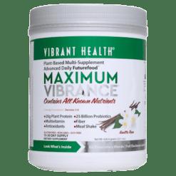 Vibrant Health Maximum Vibrance Vanilla 15 servings VB1005