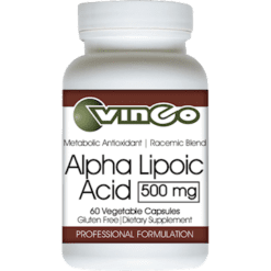 Vinco Alpha Lipoic Acid 500mg 60 vegcaps V75805