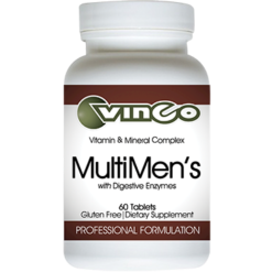 Vinco Multimens with Digestive Enzymes 60 tablets VMEN