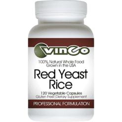 Vinco Red Yeast Rice Rx 600 mg 120 vegetarian capsules VRYR