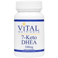 Vital Nutrients 7 Keto DHEA 100mg 60 caps V61112
