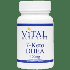 Vital Nutrients 7 Keto DHEA 100mg 60 caps V61112